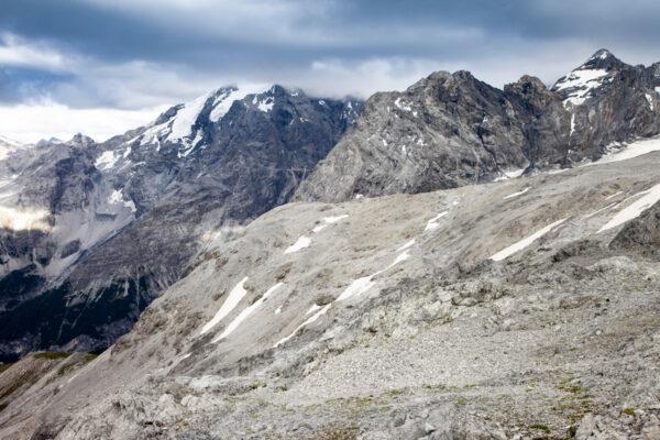 Ghiacciai e neve per sciare nel Parco Nazionale dello Stelvio
