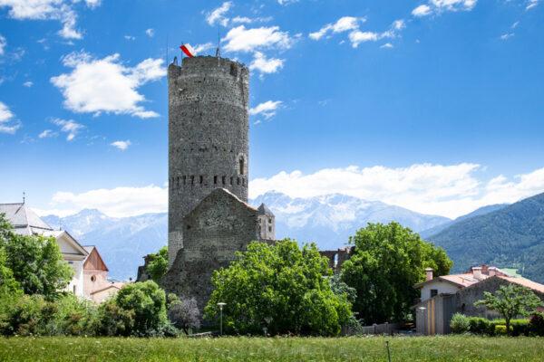I resti del castel Fröhlichsburg
