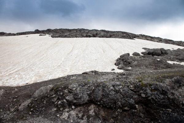 Neve Perenne sul Passo dello Stelvio