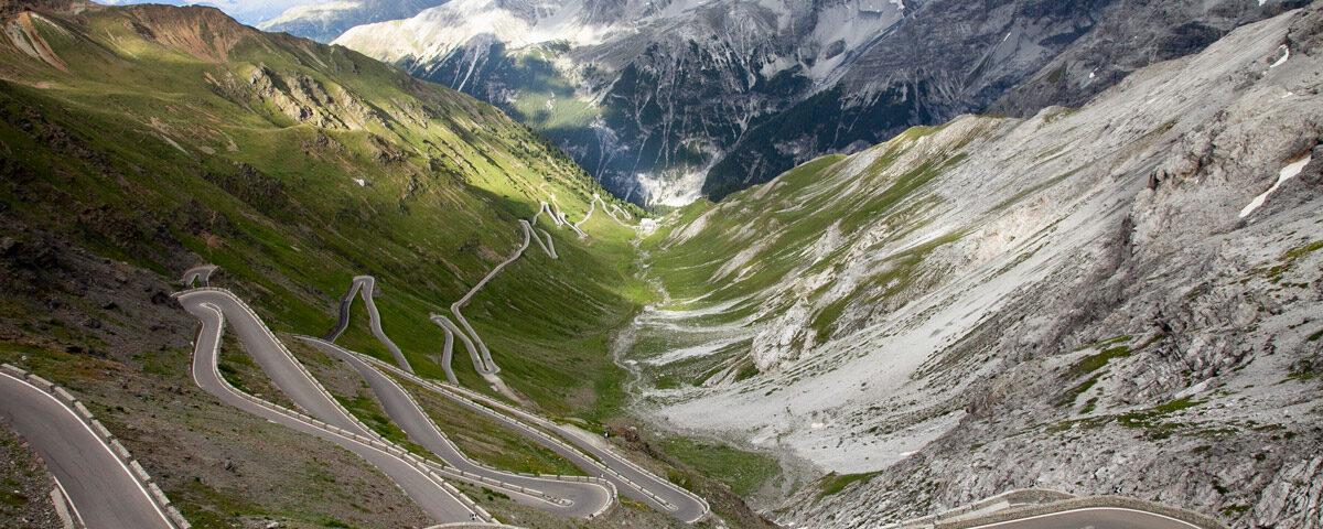 Passo dello Stelvio - Tornanti dal versante Altoatesino