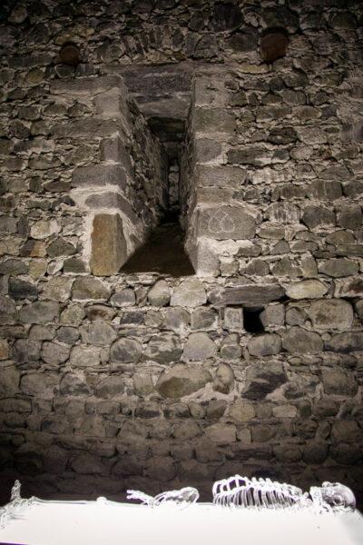 Pian terreno del maschio - vecchie segrete del castello