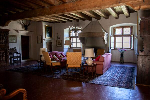 Sala dei Lanzichenecchi di Castel Coira
