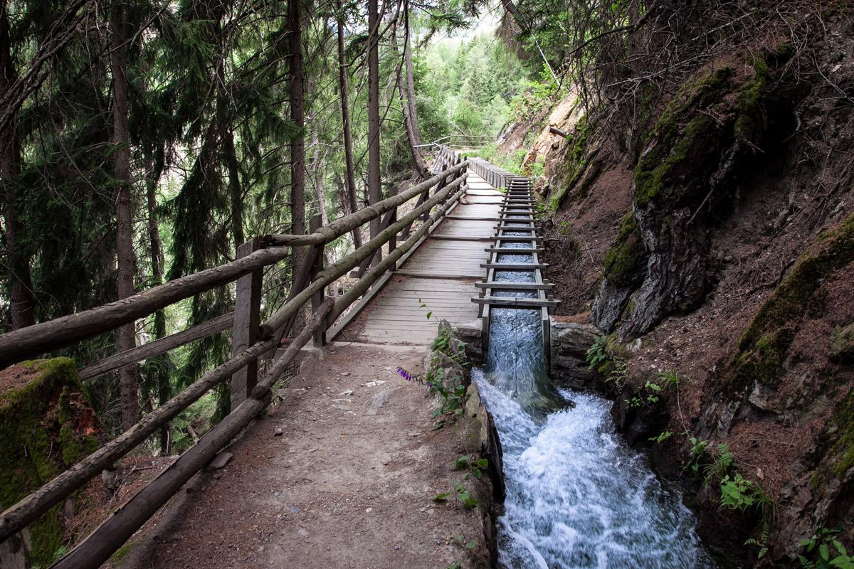 Sentiero delle Rogge di Sluderno - il più suggestivo