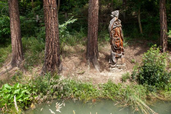 Statua dell'Orco delle Frane della Val Venosta