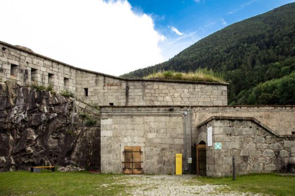 Accesso al Forte Alto del Forte di Fortezza