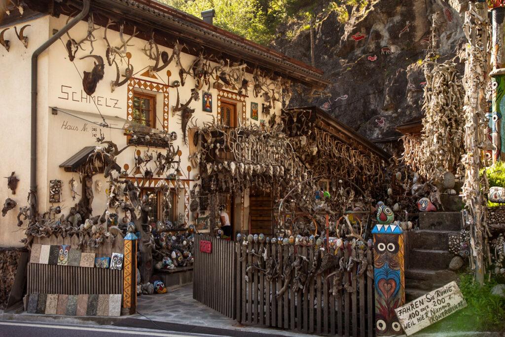 Casa e laboratorio di Lorenzo Kuntner in Val Venosta