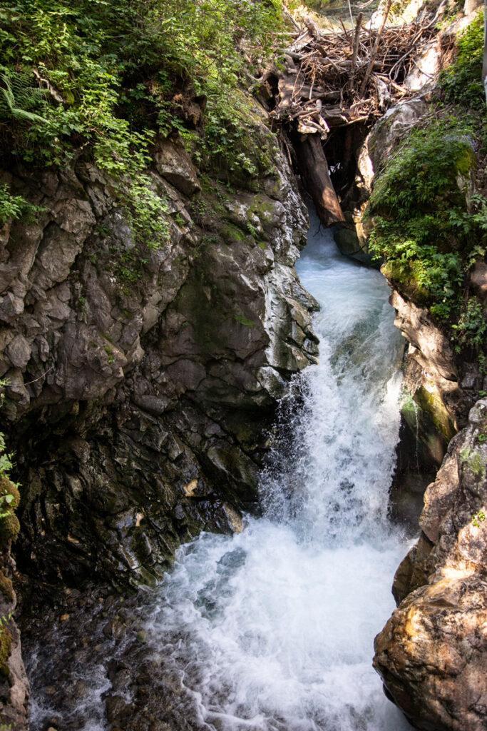Cascatella del rio Racines - Escursione vicino a Vipiteno