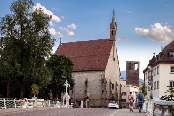 Chiesa del Santo Spirito di Merano - Esterni