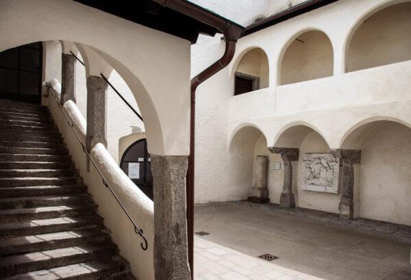 Cortile interno del palazzo Comunale di Vipiteno