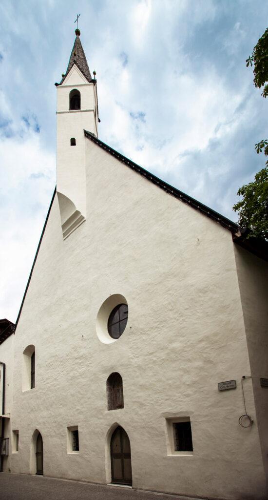 Facciata della Chiesa del Santo Spirito di Vipiteno