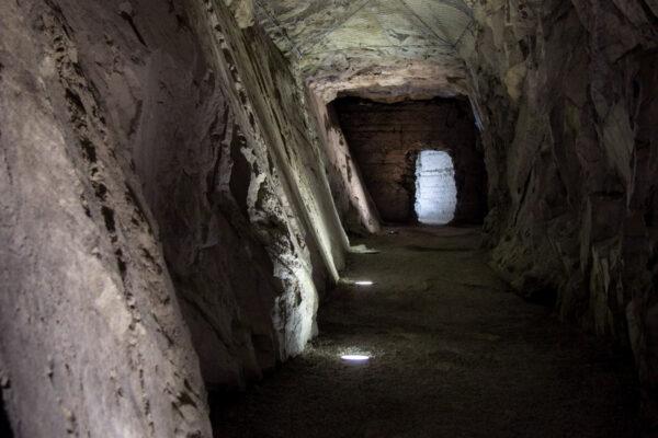 Forte di Fortezza scavato nella roccia