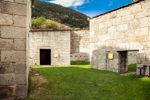 Giardini nel forte Medio