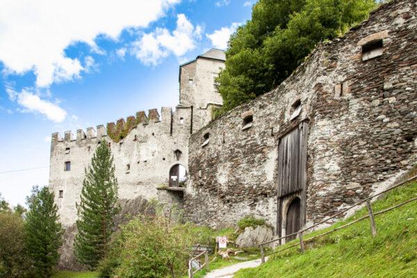 Ingresso al Castel Tasso di Vipiteno