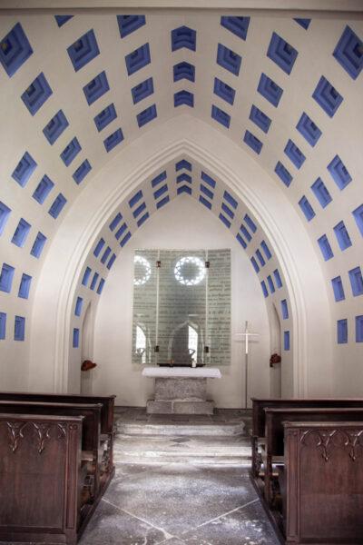 Interni della cappella del Forte di Fortezza