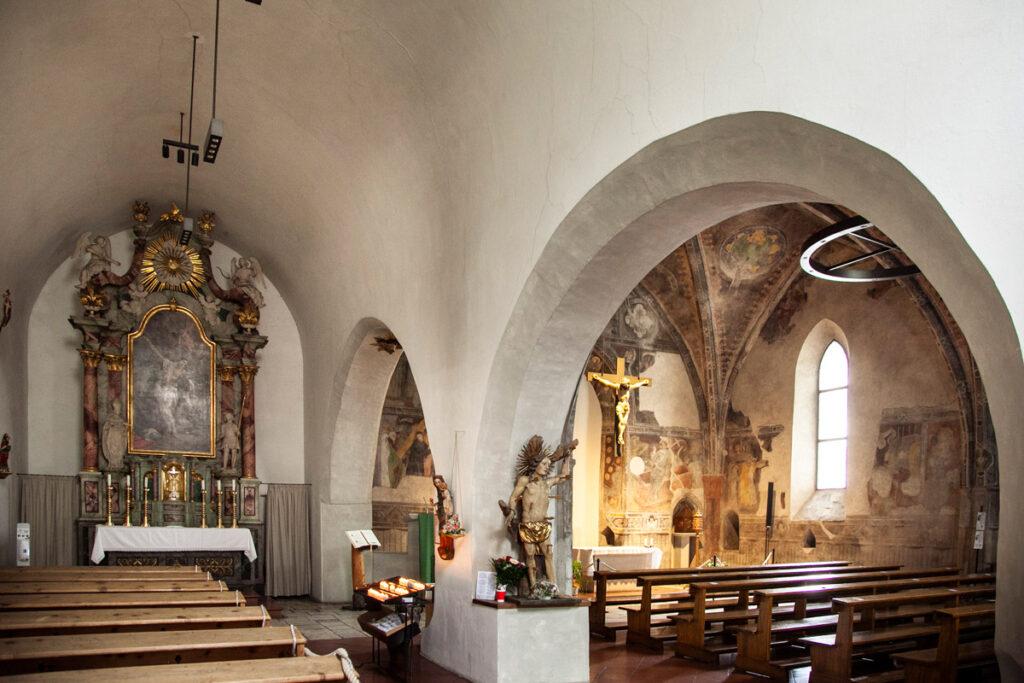 Interni della chiesa del Santo Spirito