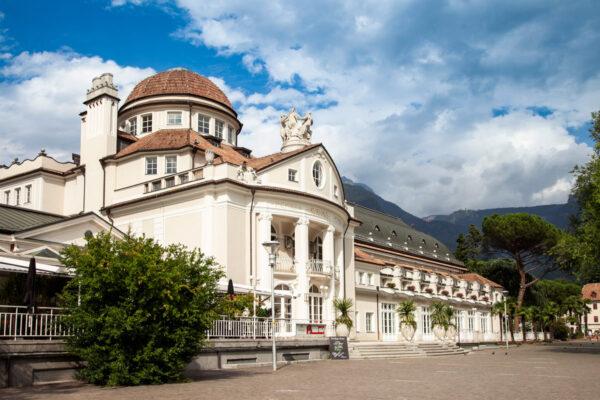 Kurhaus di Merano - sala congressi e vecchie terme