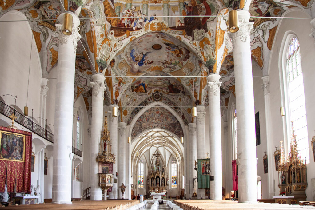 Navete interne della chiesa di Nostra Signora della Palude di Vipiteno