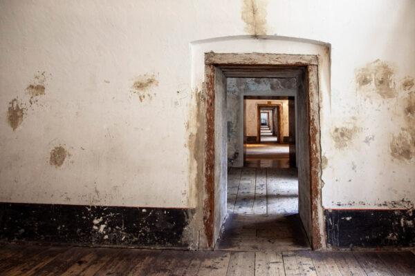 Passaggi tra le varie sale delle Casematte del Forte di Fortezza