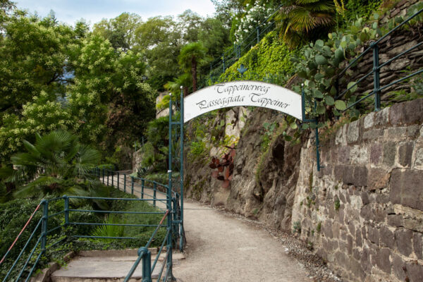 Passeggiata Tappeiner di Merano
