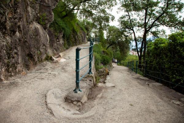 Percorso della passeggiata Tappeiner tra natura e montagna