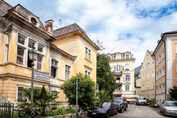 Piazza Steinach - Quartiere più antico di Merano
