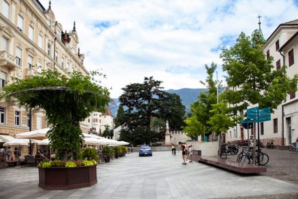 Piazza della Rena di Merano