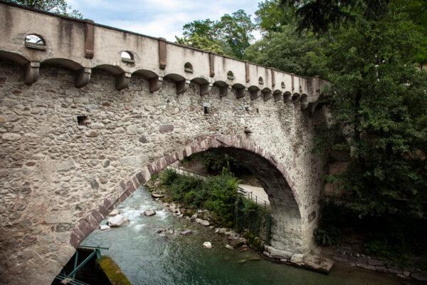 Ponte romano di Merano sul torrente Passirio