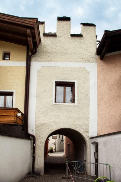 Porta Ungerhaus o Porta Vizze - Accesso alla città Nuova di Vipiteno