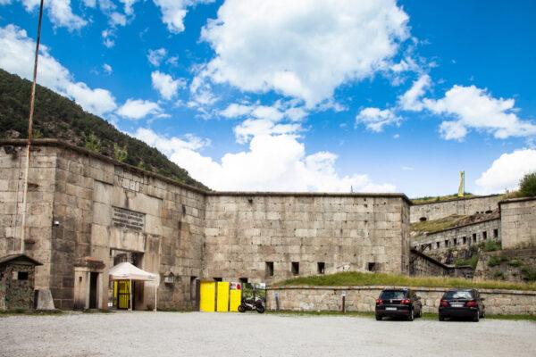 Portone d'ingresso al Forte di Fortezza