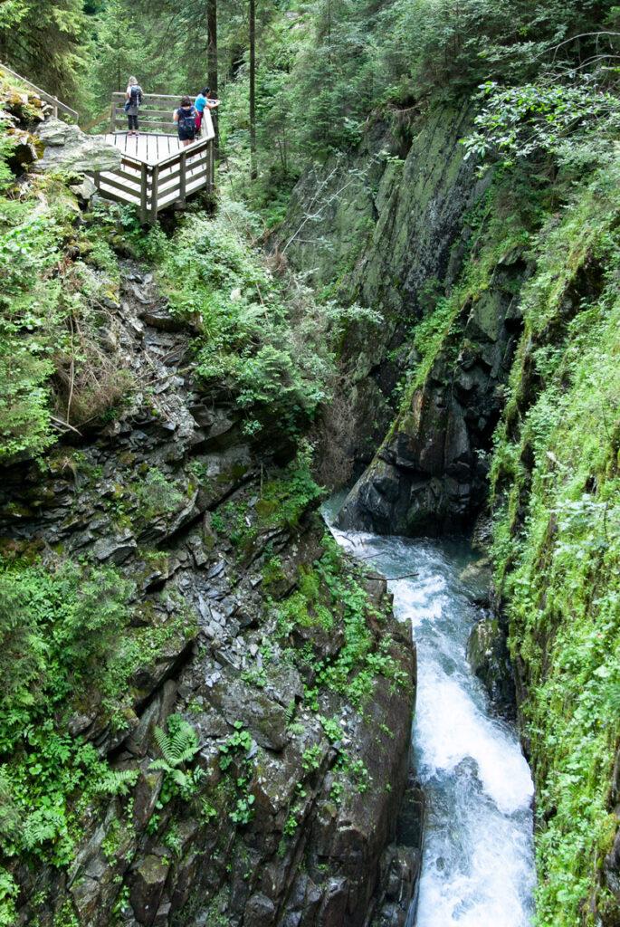 Punto di Osservazione sul rio Racines - Orrido di Stanghe