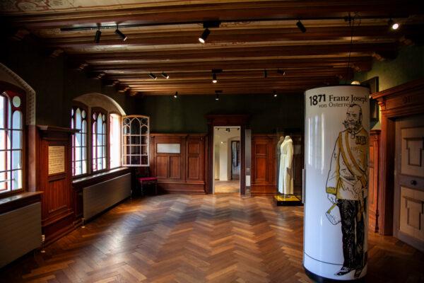 Sala dell'Imperatore a Castel Trauttmansdorff