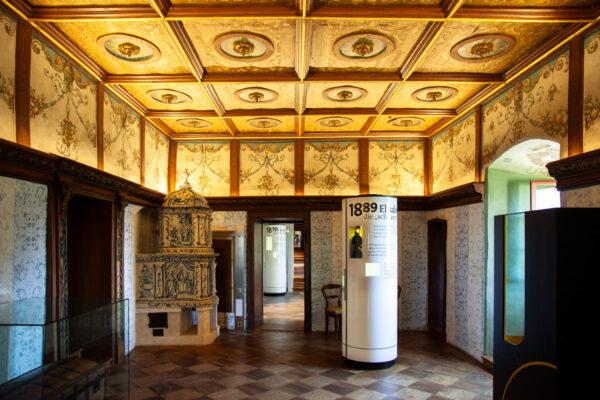 Stanza del conte a Castel Trauttmansdorff