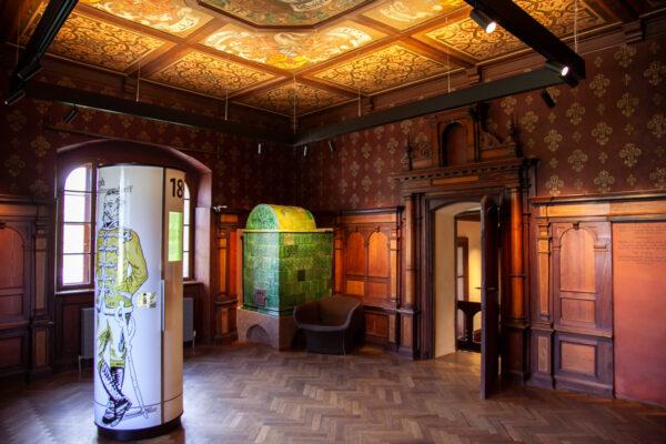 Studiolo di Castel Trauttmansdorff - stanza da toletta di Sissi