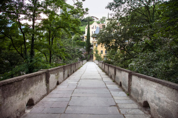 Sul ponte romano di Merano