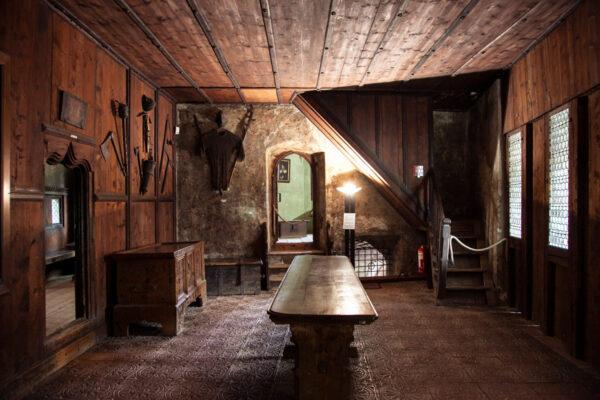 Visita agli interni del castello Principesco di Merano