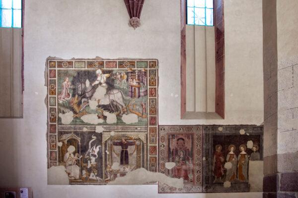 Affreschi antichi della chiesa dei Domenicani
