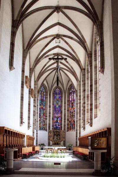 Altare della chiesa dei Francescani