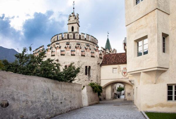 Cappella di San Michele o Castello dell'Angelo visto da fuori