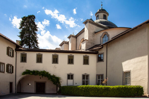 Chiesa di Sant'Agostino vista dall'Abbazia di Muri Gries