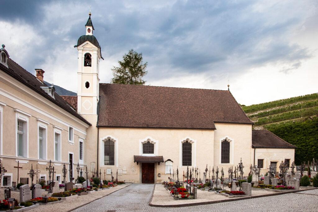 Chiesa di Santa Margherita e cimitero - Abbazia di Novacella