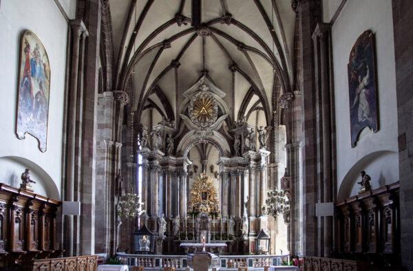 Coro e abside del Duomo di Bolzano