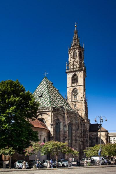 Duomo di Bolzano visto da piazza Walther