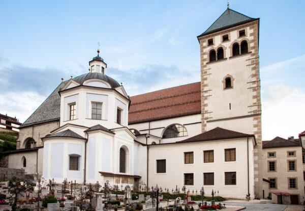 Esterni della Basilica di Santa Maria Assunta dell'abbazia di Novacella