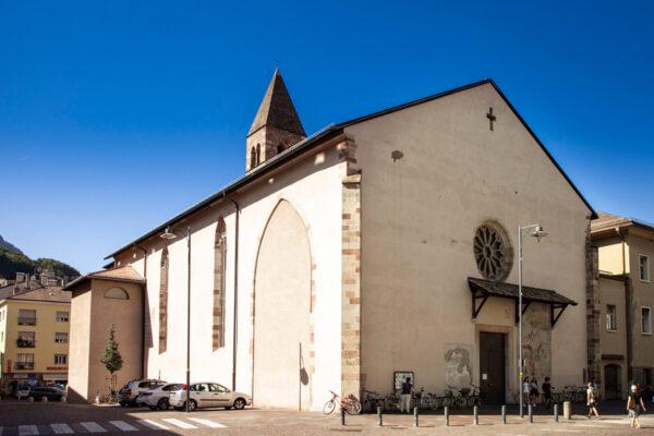 Esterni della chiesa dei Domenicani di Bolzano