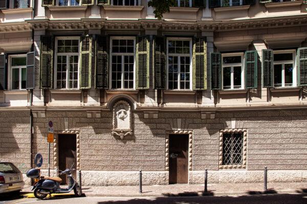 Facciata del Palais Toggenburg