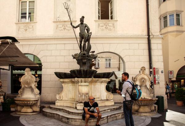Fontana del Nettuno in piazza delle Erbe