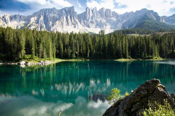 Lago di Carezza - Nova Levante in provincia di Bolzano