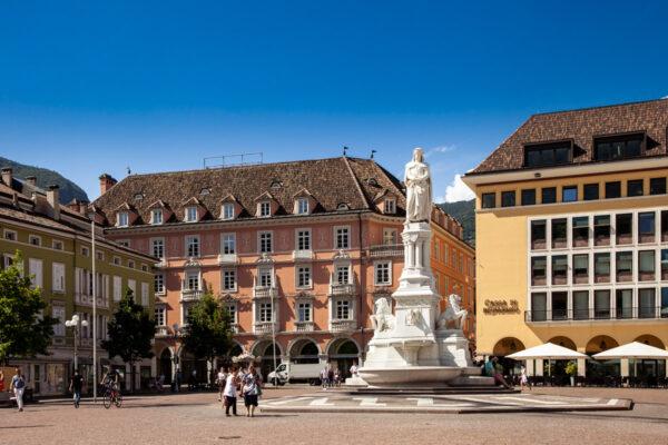 Piazza Walther di Bolzano