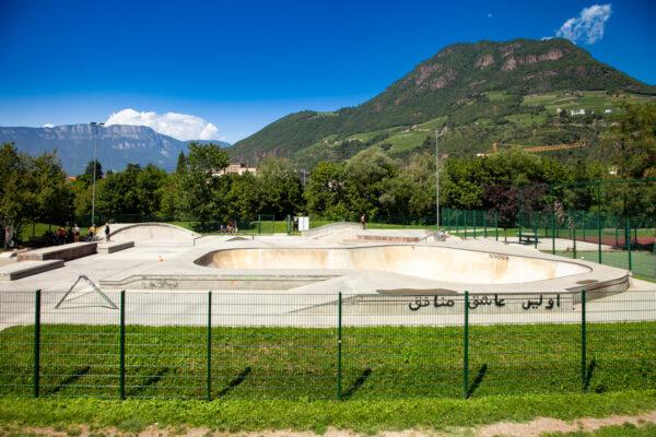 Skate Park sul parco Petrarca