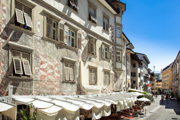 Via degli Argentieri a Bolzano